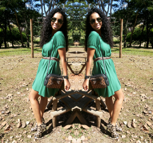 Look do dia Blazer e vestido