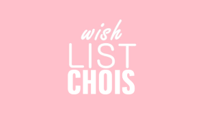 Wish List loja Choies!!!