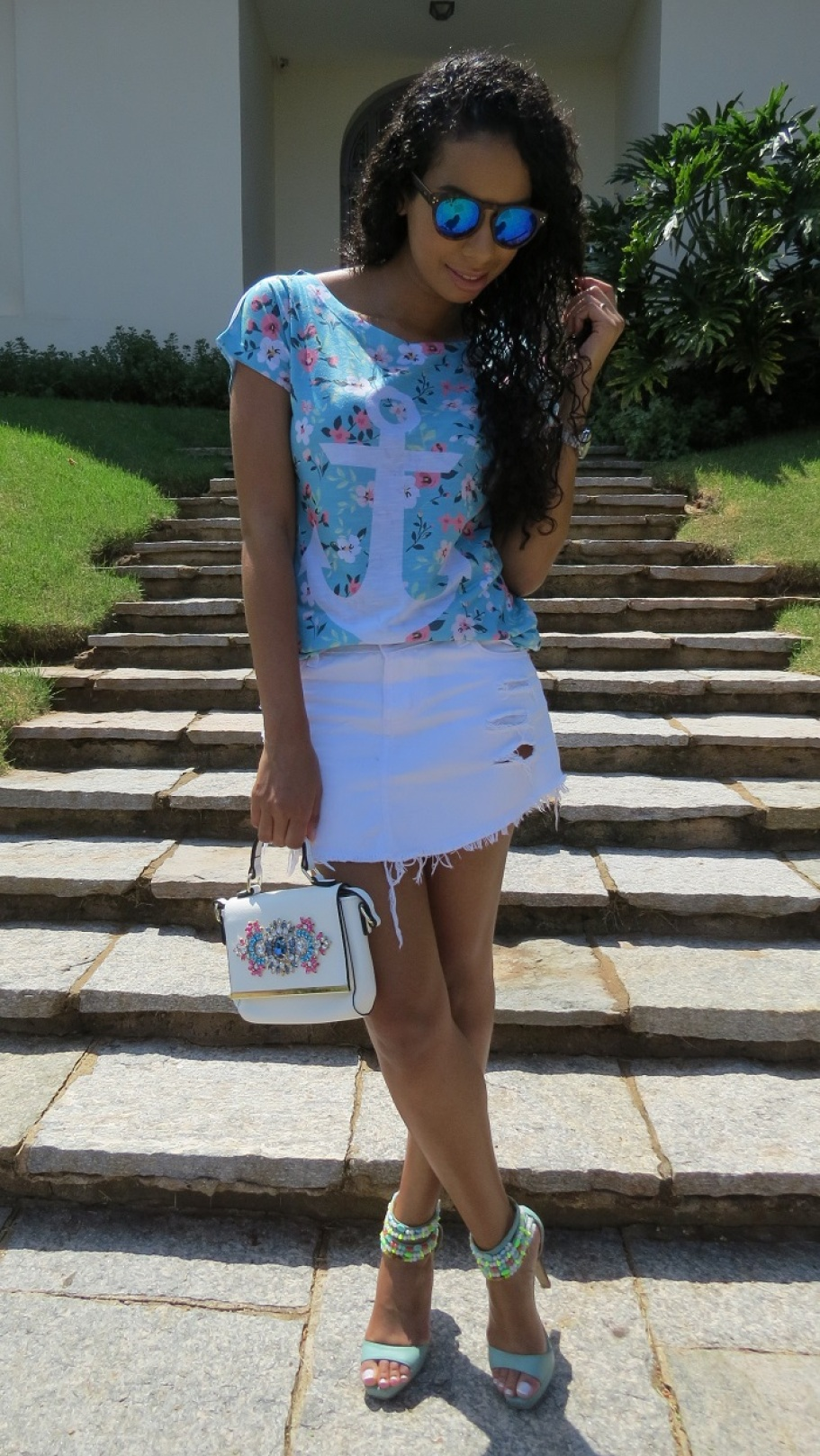 Look do dia t-shirt âncora