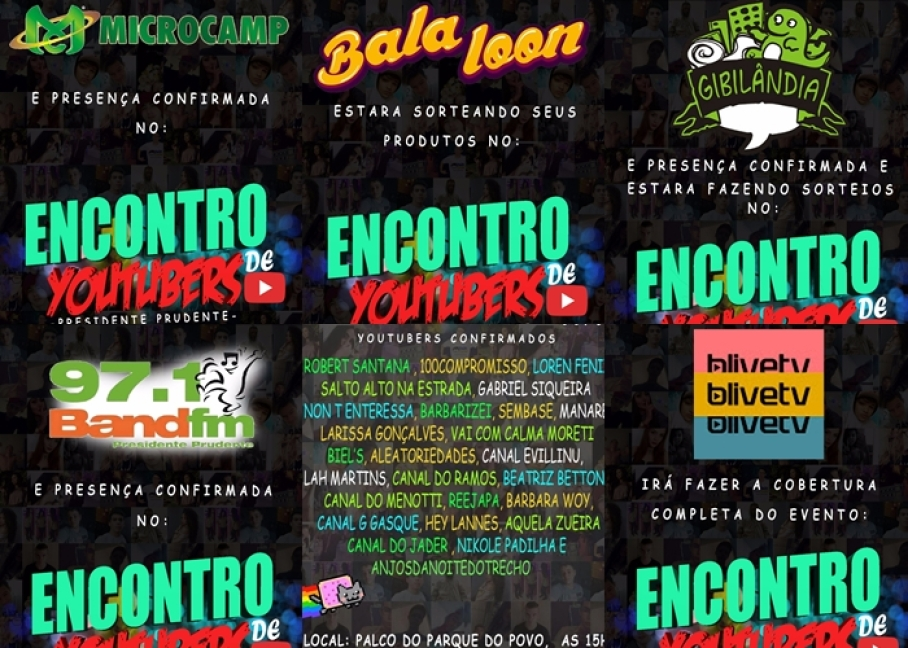 ENCONTRO DE YOUTUBERS
