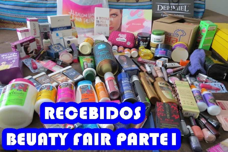 VÍDEO RECEBIDOS BEAUTY FAIR