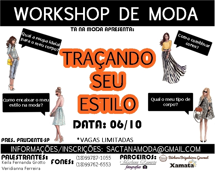 Workshop de moda presidente prudente
