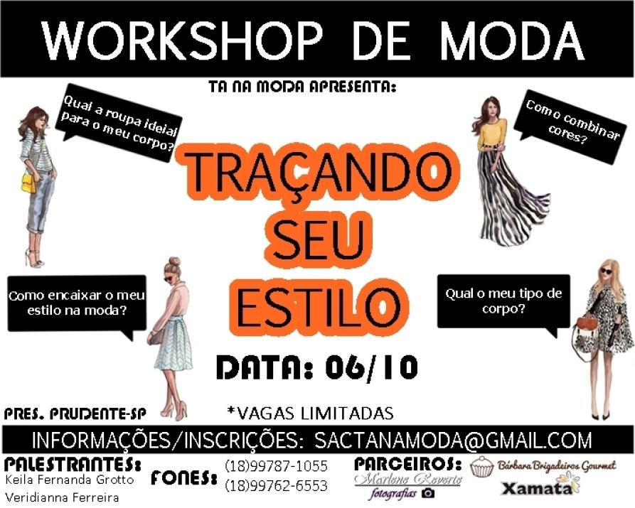 WORKSHOP DE MODA: TRAÇANDO SEU ESTILO