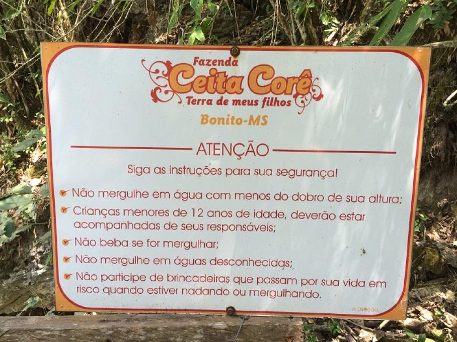 CEITA CORÊ CACHOEIRAS NASCENTE