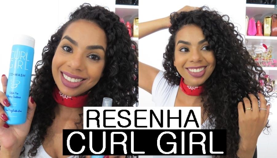 RESENHA CURL GIRL
