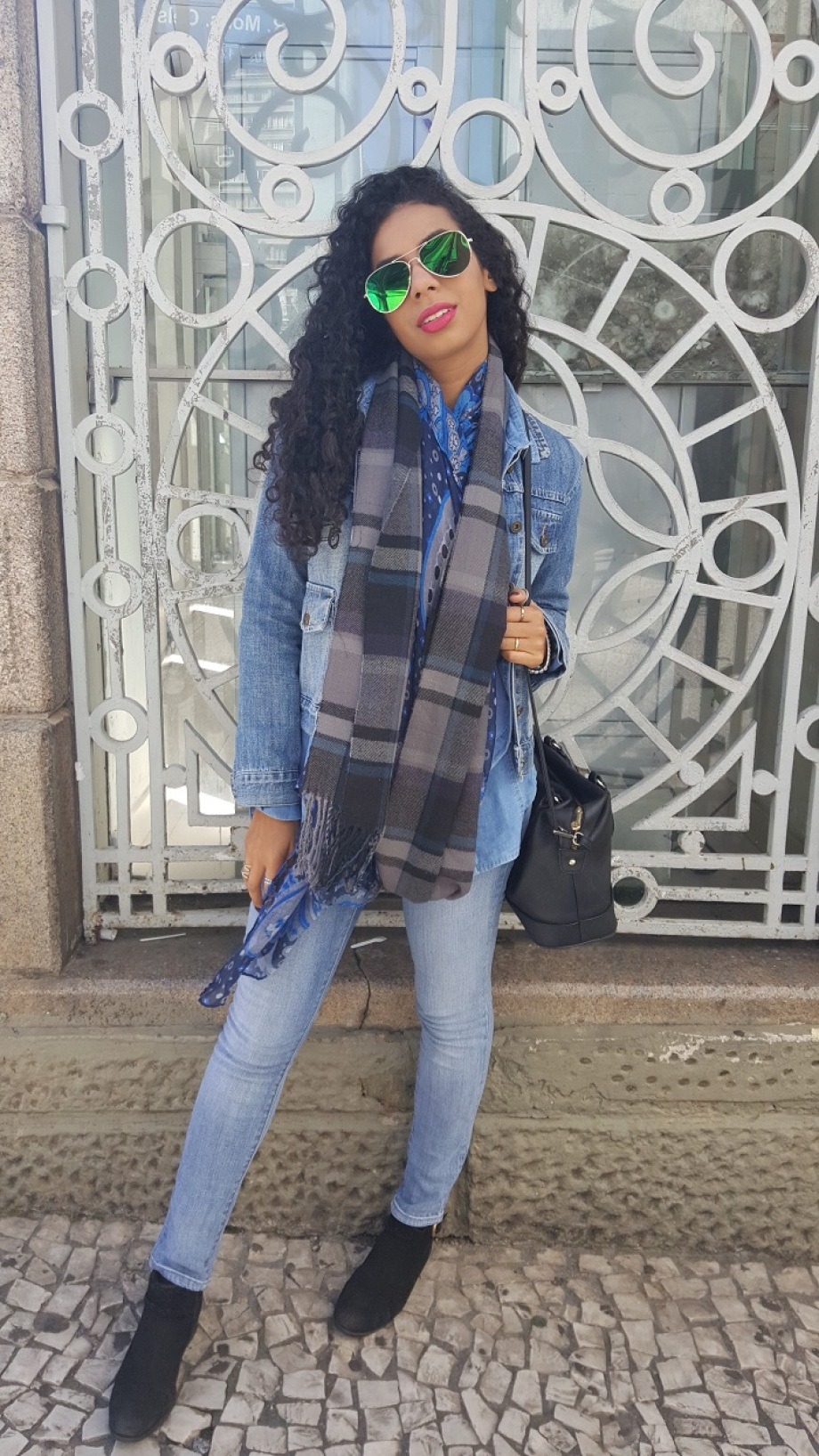 LOOK DO DIA TOTAL JEANS