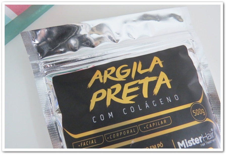 VITAMINA PARA CRESCIMENTO CAPILAR | ARGILA PRETA - CACHEADAS | MISTER HAIR